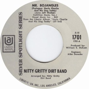 NITTY GRITTY DIRT BAND - UA 1701 A