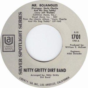 NITTY GRITTY DIRT BAND - UA 1701 A