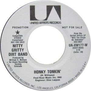 NITTY GRITTY DIRT BAND - UA 177 B