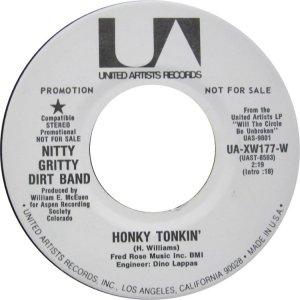NITTY GRITTY DIRT BAND - UA 177 B