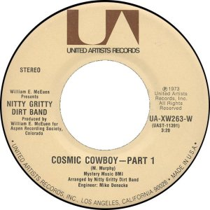 NITTY GRITTY DIRT BAND - UA 263 C