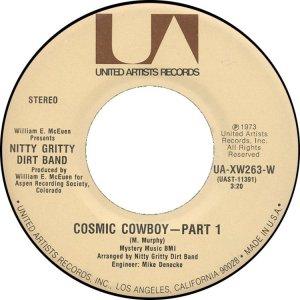 NITTY GRITTY DIRT BAND - UA 263 C