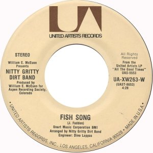 NITTY GRITTY DIRT BAND - UA 263 D