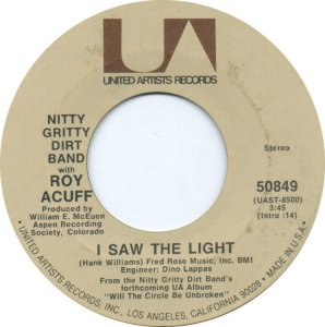 NITTY GRITTY DIRT BAND - UA 50849 A