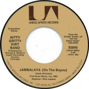 NITTY GRITTY DIRT BAND - UA 50890 C