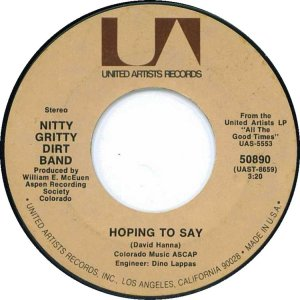 NITTY GRITTY DIRT BAND - UA 50890 D