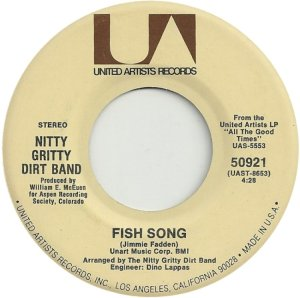 NITTY GRITTY DIRT BAND - UA 50921 B