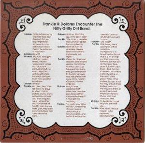 NITTY GRITTY DIRT BAND - UA 61 B