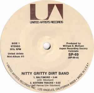 NITTY GRITTY DIRT BAND - UA 61 I
