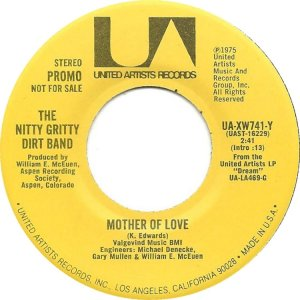 NITTY GRITTY DIRT BAND - UA 741 B