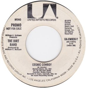 NITTY GRITTY DIRT BAND - UA 830 B