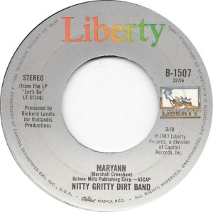 NITTY GRITTY - LIBERTY 1507 B
