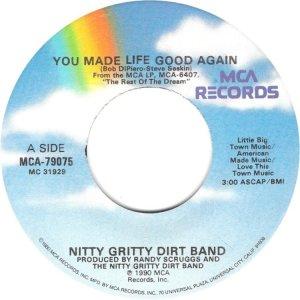 NITTY GRITTY - MCA 79075 A