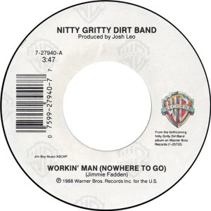 NITTY GRITTY - WARNER BROS 27940 A