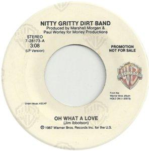 NITTY GRITTY - WARNER BROS 28173 A