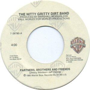 NITTY GRITTY - WARNER BROS 28780 A