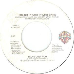NITTY GRITTY - WARNER BROS 29203 A