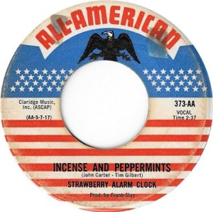 STRAWBERRY ALARM CLOCK 45 american 1967