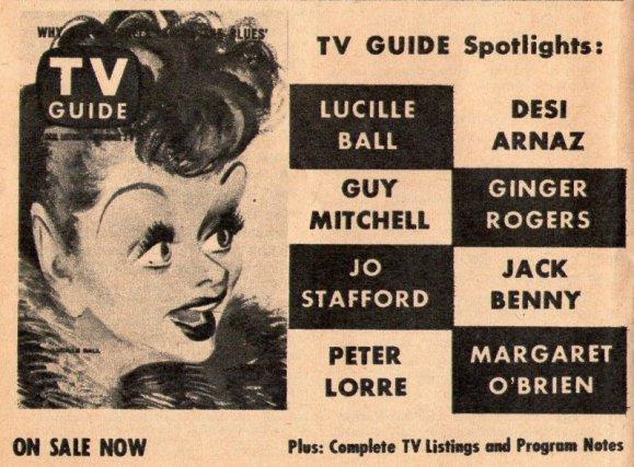 1957 LUCILLE BALL