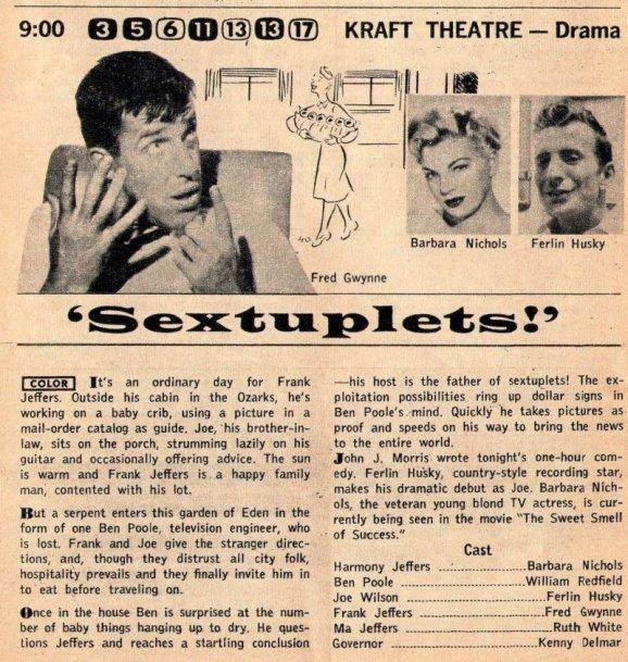 1957 SEXTUPLETS