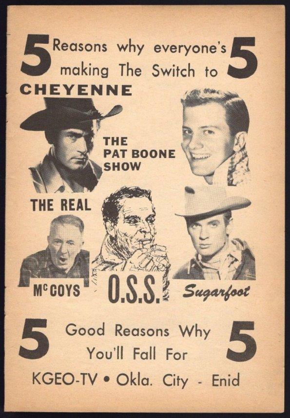 1958 WESTERNS