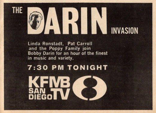 1971 BOBBY DARIN SHOW