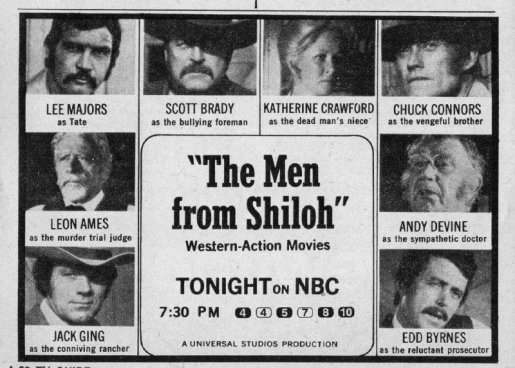 1971 MEN FROM SHILOH