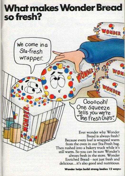1972 WONDER BREAD