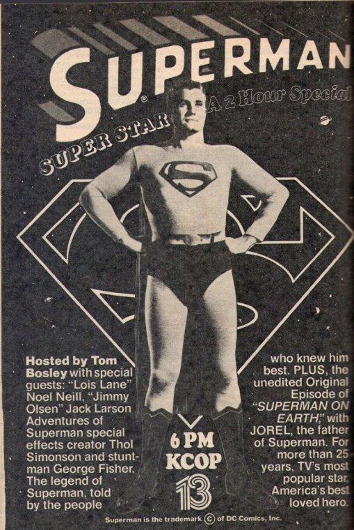 1979 SUPERMAN