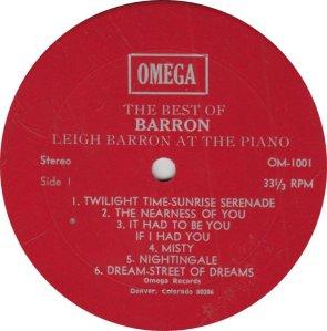 BARRON LEIGH - OMEGA 1001
