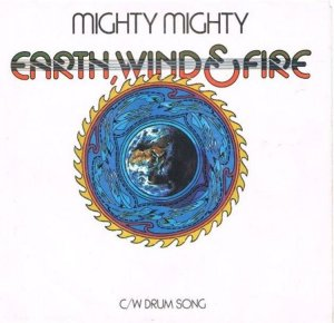 CARIBOU 1974 - EARTH WIND FIRE 45 A