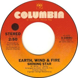 CARIBOU 1975 - EARTH WIND FIRE 45