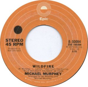CARIBOU 1975 - MICHAEL MARTIN MURPHY 45