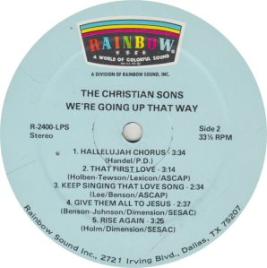 CHRISTIAN SONS - RAINBOW_0001
