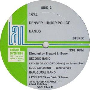 DENVER POLICE BAND - KAUD 6512_0001