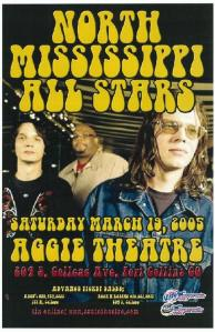 POSTER - AGGIE HOUSE FT COLLINS A4