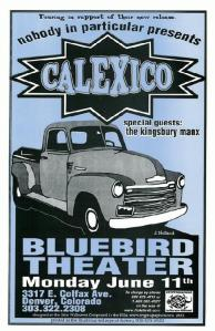 POSTER - BLUEBIRD THEATER 5