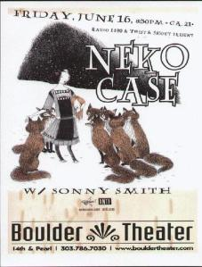POSTER - BOULDER THEATER A20