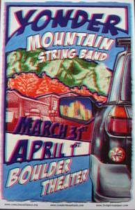 POSTER - BOULDER THEATER B27