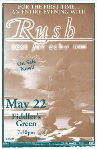 POSTER - FIDDLERS GREEN B6