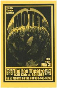 POSTER - FOX BOULDER A115