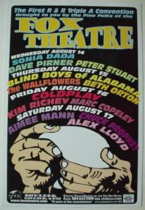 POSTER - FOX THEATER BOULDER 36