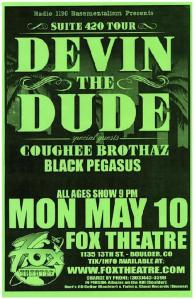 POSTER - FOX THEATER BOULDER 53