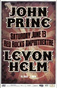 POSTER - RED ROCKS A11