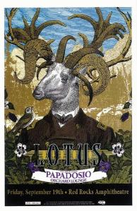 POSTER - RED ROCKS A19