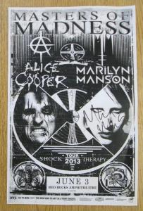 POSTER - RED ROCKS A23