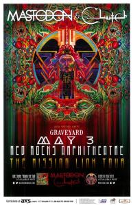 POSTER - RED ROCKS A24