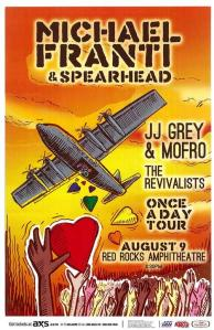 POSTER - RED ROCKS A26