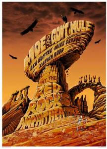 POSTER - RED ROCKS A27