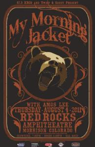POSTER - RED ROCKS A30